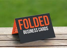 Folded Cards - 2 sided